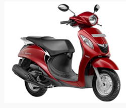 Yamaha Rouge Red Fascino Scooty