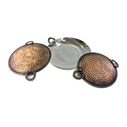 Smokey Finished Copper Steel Tawa Dishes