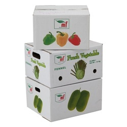 Vegetable Corrugated Boxes, Capacity - 1 - 60 Kg