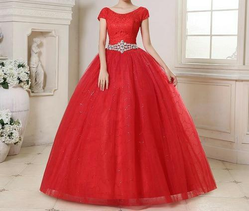 Collar Western Wedding Red Ball Gown Dress Rs 12500 Piece A2 Fashion House Id 14066645033
