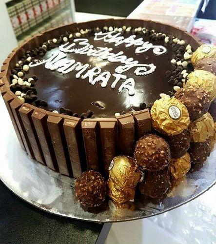 Swell Cake Wala Kitkat Chocolate Overloaded Cake Rs 1799 Kilogram Cake Birthday Cards Printable Opercafe Filternl