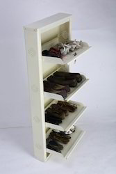 Brown / Black Wall mount Shoe Rack for Home
