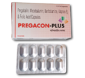Pregacon-plus (pregabalin, Mecobalamin, Benfotiamine, Vitamin B And Folic Acid Capsules)
