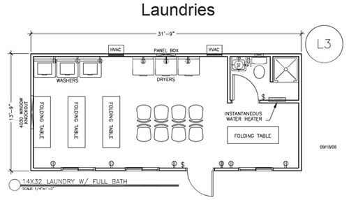 Laundry Layout Design Service