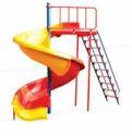 Spiral Slide With Ladder
