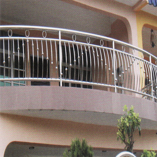 Steel Front Railing