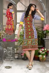 Fashionable Printed Cotton Kurti
