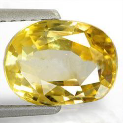 2.92 Carats Yellow Sapphire
