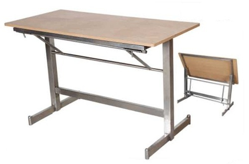 folding cafeteria table at rs 4100 /piece | canteen table | id