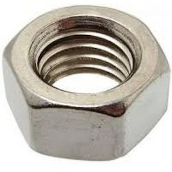 Polished Mild Steel Nut, Size: M22