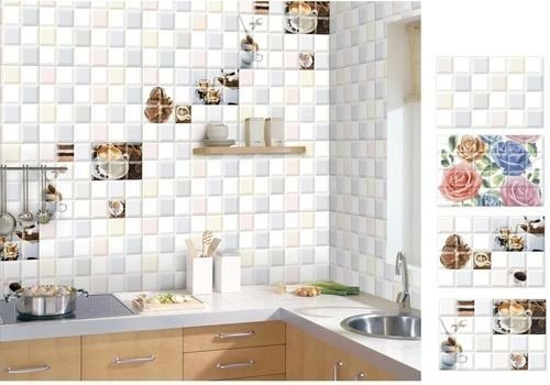 Ceramic And Porcelain Maroon And Green Wall Tiles 15 20 Mm And 20 25 Mm Rs 150 Box Id 18923678933