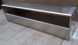 Polished Electric Dead Body Freezer Box