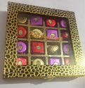 Metal Box With Chocolate