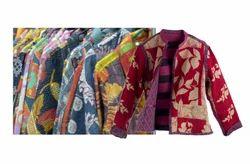 Handmade.handwash Cotton Kantha Winter Jackets