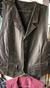 Brown Sleeveless Jacket