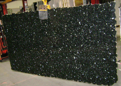 Green Pearl Granite Slab, Thickness: 10-15 mm