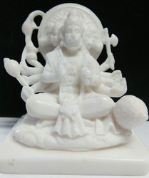 Hanuman Panchmukhi In Resin