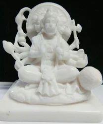 Hanuman Panchmukhi In Resin