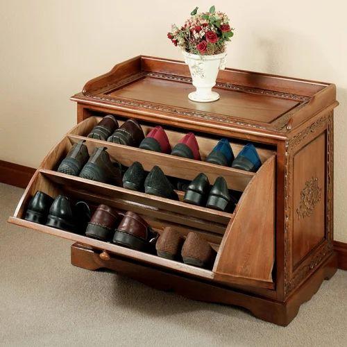 Wooden Modern Shoe Rack Rich Wood Furniture Id 14079851055