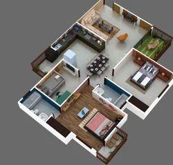 Cut Floors 3d Rendering Services