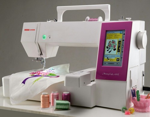 Usha Automatic Computer Embroidery Machine Rs 40 Piece ID Amazing Computer Sewing Machine Embroidery