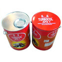 Tight Lid Tin Cans