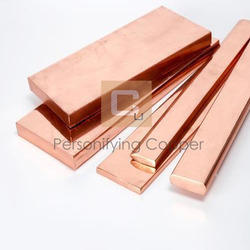 Personifying copper Flat Bars, for Manufacturing