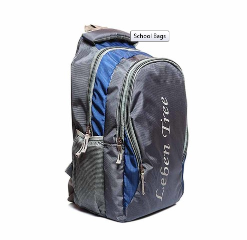 83e605a455 Polyester Leben Tree School Bags