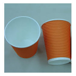Corrugated Paper Glass