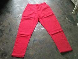 Multicolor Cotton Girls Pants