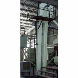 Mild Steel 1-10 Feet Vertical Elevators