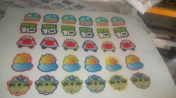 Cartoon Sticker Offset Printing Services