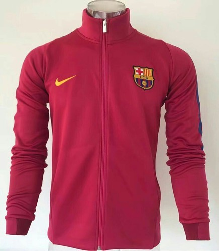 973617411 Maroon Nike Barcelona Zipper Jacket
