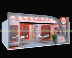 Exhibition Stall Vendors : Service provider of exhibition stalls designing fabrication d