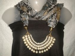 Jeweled Scarf / Stole