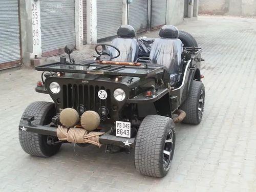 Modified Open Jeep For Sale   Nagpal Nagar, Malout   Jain Jeep ...