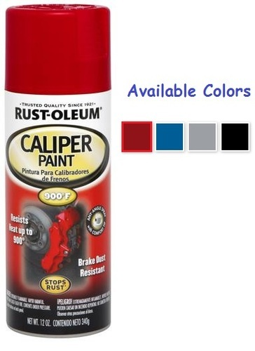 Rust Oleum Automotive Caliper Spray Paint
