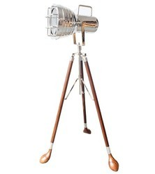 Classic Decor New Torch Searchlight On Golf Stand