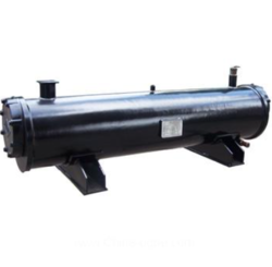 Stainless Steel Industrial Shell And Tube Condenser, Ac 220 V, 15 Kw
