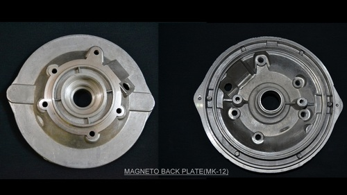 Automobile Spare Parts - Magneto Back Plate Manufacturer from Aligarh