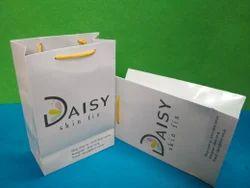 Printed Bag Cosmetics Paper Bags, Capacity: 500gm