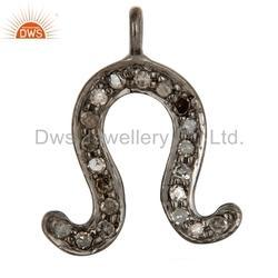 Diamond 925 Silver Charm Jewelry