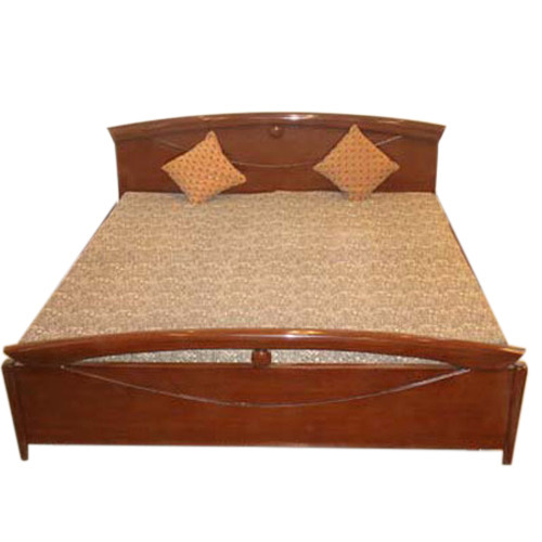 Wooden Bed Wooden Double Bed Manufacturer From Saharanpur