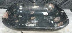 Black Stone Bathroom Sink