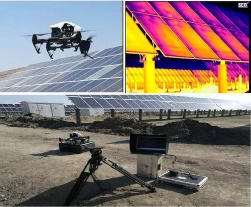 IR Thermography Using Drone - Infrared Thermal Camera