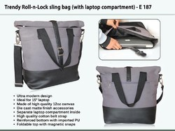 Trendy Laptop Bag With Laptop Compartment