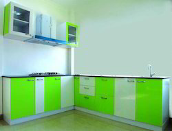 High Glass Modular Kitchen