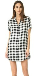 Check Women Long Shirt