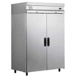 Raj Industries Top Freezer Double Door Commercial Refrigerator, Electricity, Capacity: 220l