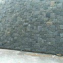 Black Stone Wall Cladding Tiles